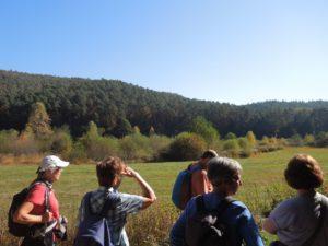 Wir erfahren Details zur Flora und Fauna im Biosphärengebiet.