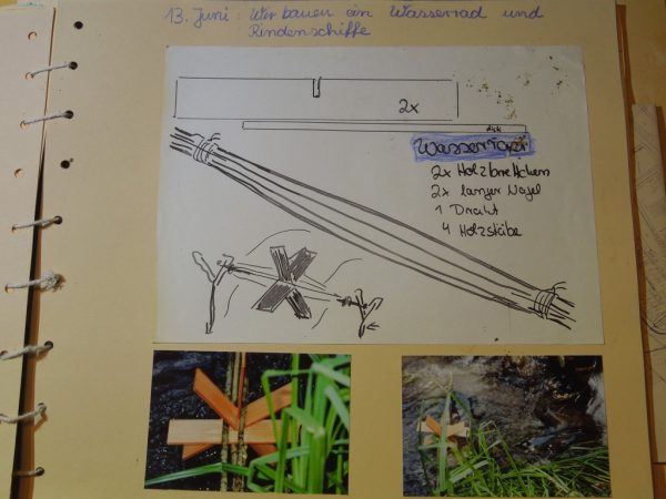 "Naturtagebuch 2009 - ""Gewässeruntersuchung an der Salzach"""
